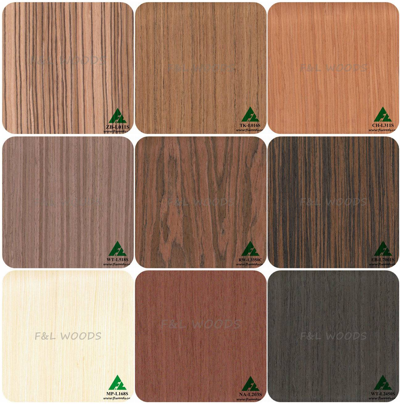 engineered veneer /reconstituted veneer/recon veneer/veneer fineline /oak veneer