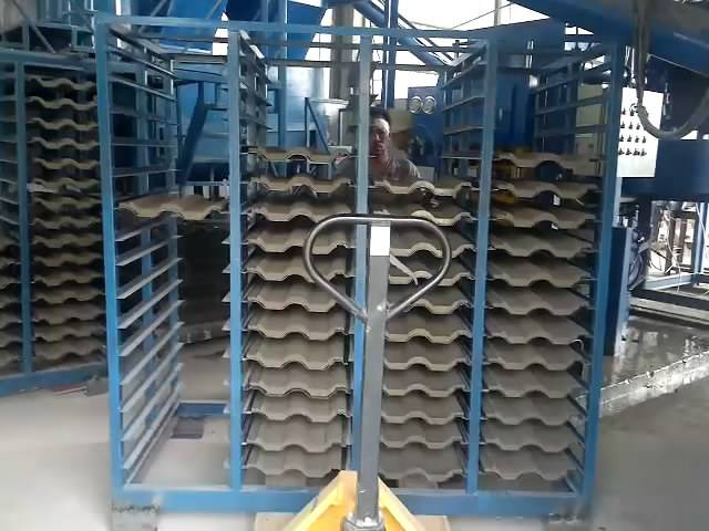 Steel Cement Roof Tiles Making Machine,Concrete Roof Tile Machine