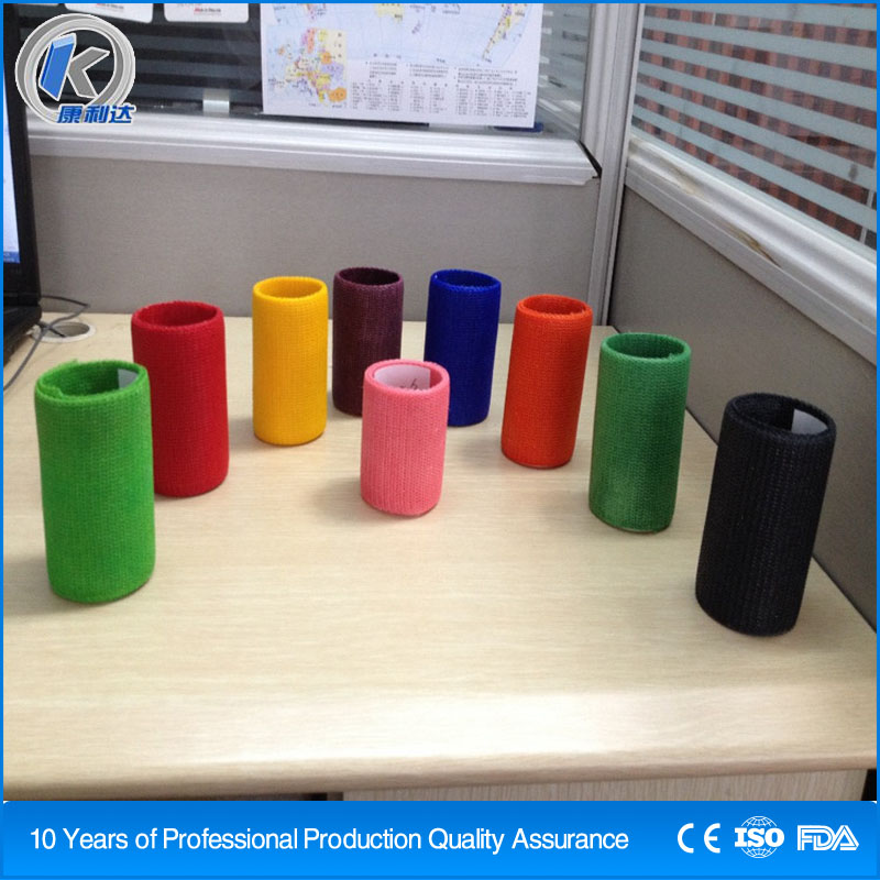 Orthopedic Immobilization Bandage Waterproof Cast Tape For Fracture Treatment