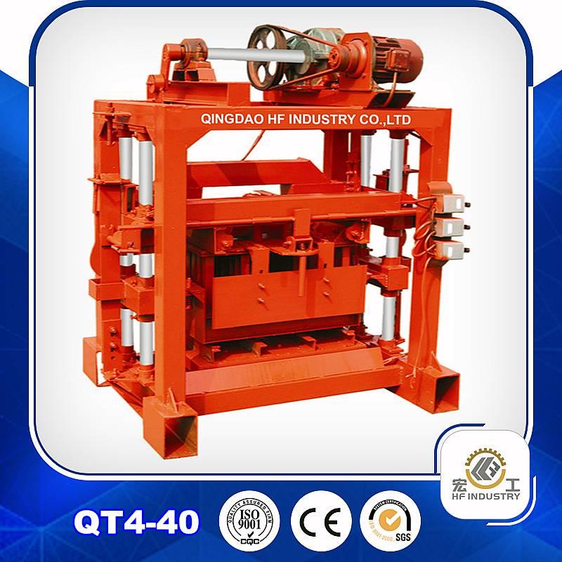 QT4-40 block molding machine