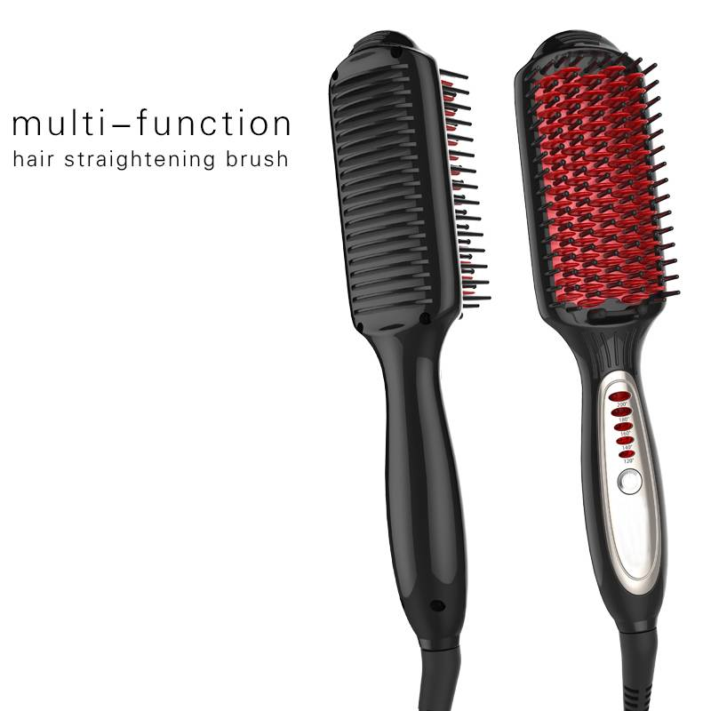 Professional electric anion straight hair comb