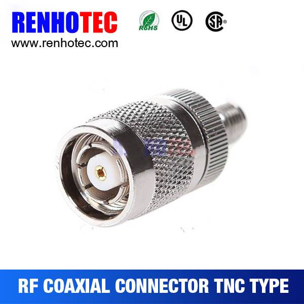 China Supplier SMA RP-Female to TNC Male Crimp Cable RF Electrical Coaxial Connector