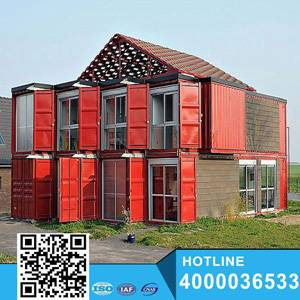 Prefabricated Container House with Bathroom