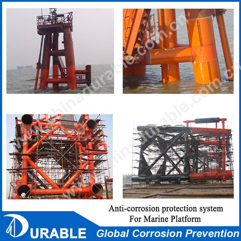 Petrolatum Tape Covering System for Marine Deformed Steel Structure