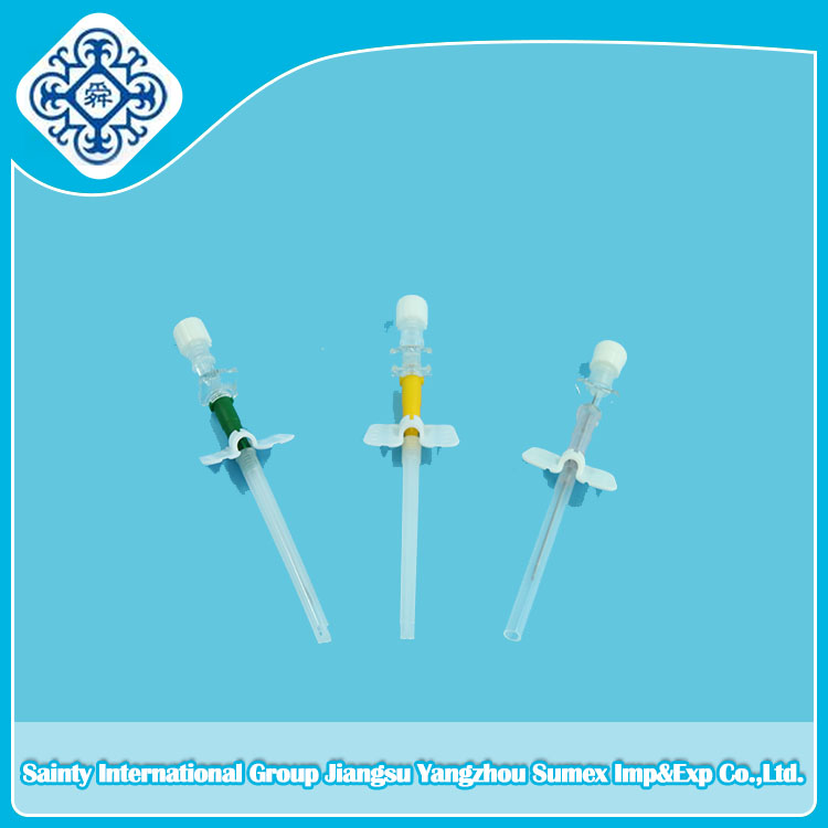 Disposable I.V catheter / IV Cannula pen type butterfly type