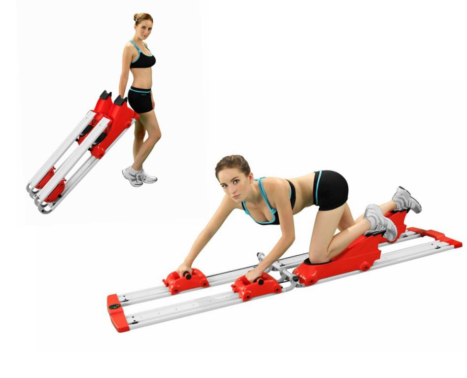 Crawling fitness equipment for home GYM FC-528 red