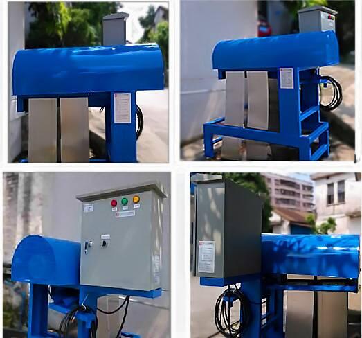500L/H high efficiency oil water separator machine