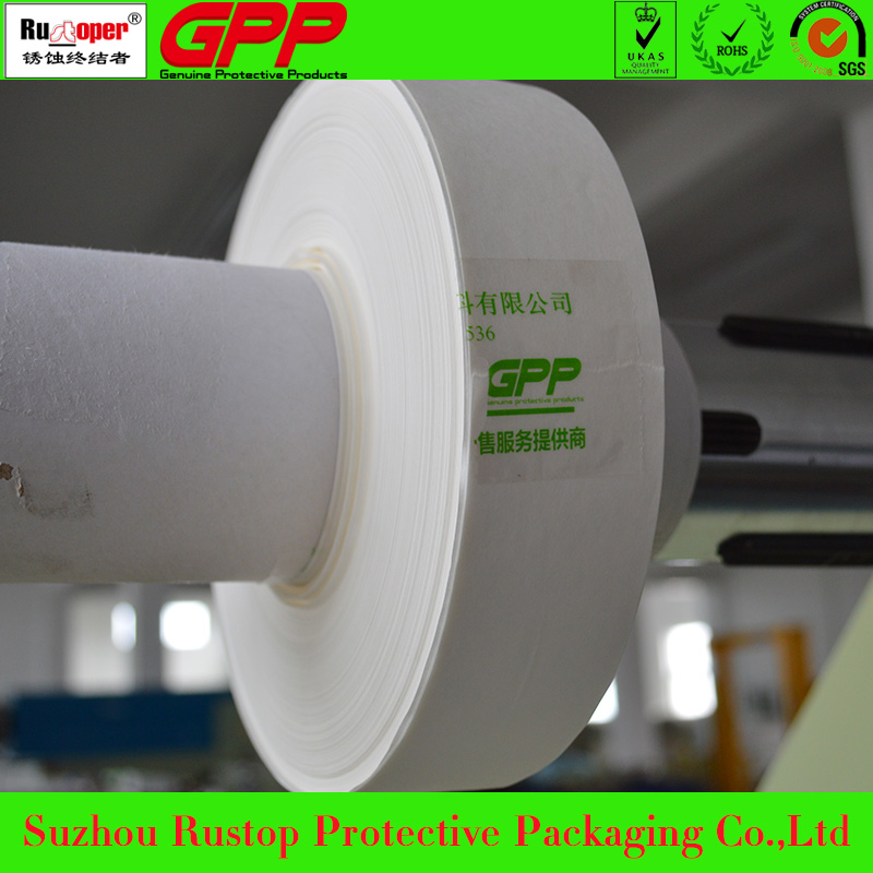 VCI anti-corrosion packaging paper for metals