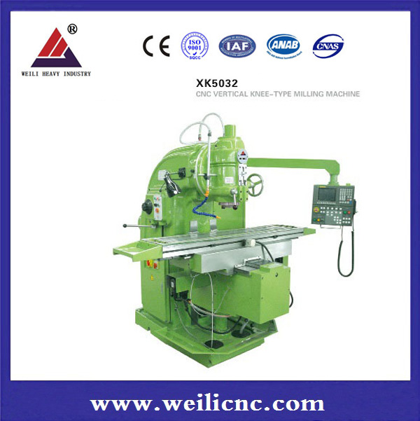 Economic and high precision CNC vertical milling machine XK5040/xk5032