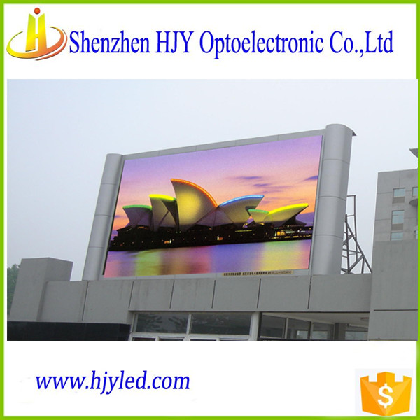 New hot sale advertising p10 outdoor led display billboard