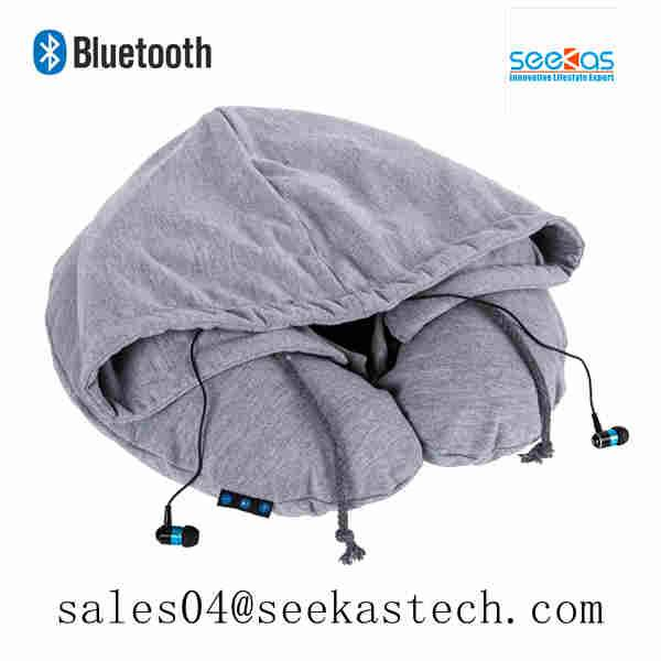 bluetooth travel pillow, BSCI and Disney approved Shenzhen factory
