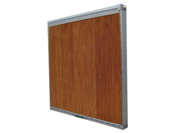 cooling pad with frame