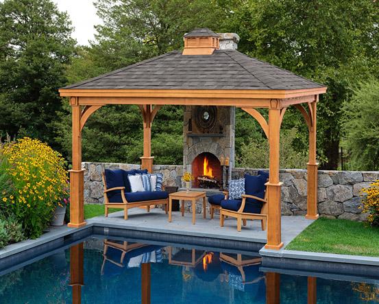 outdoor wooden gazebos for sale