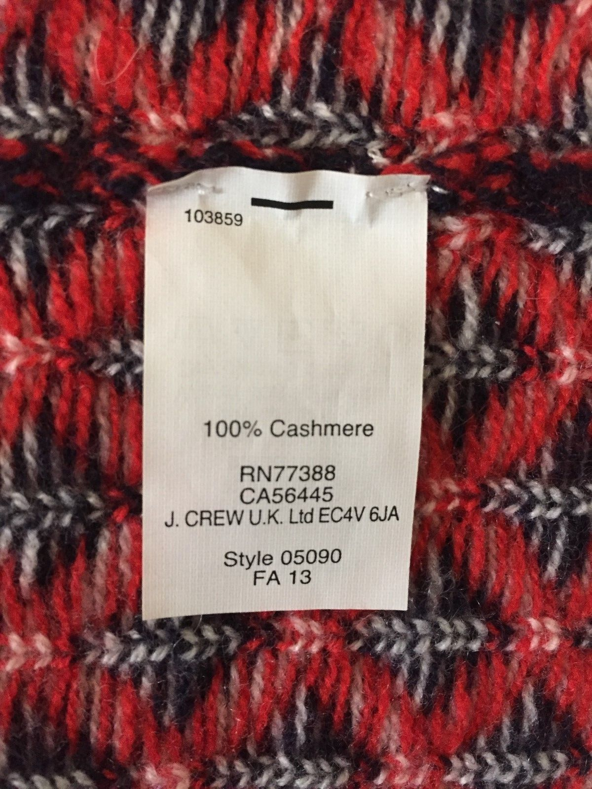 100% USED CASHMERE SWEETERS