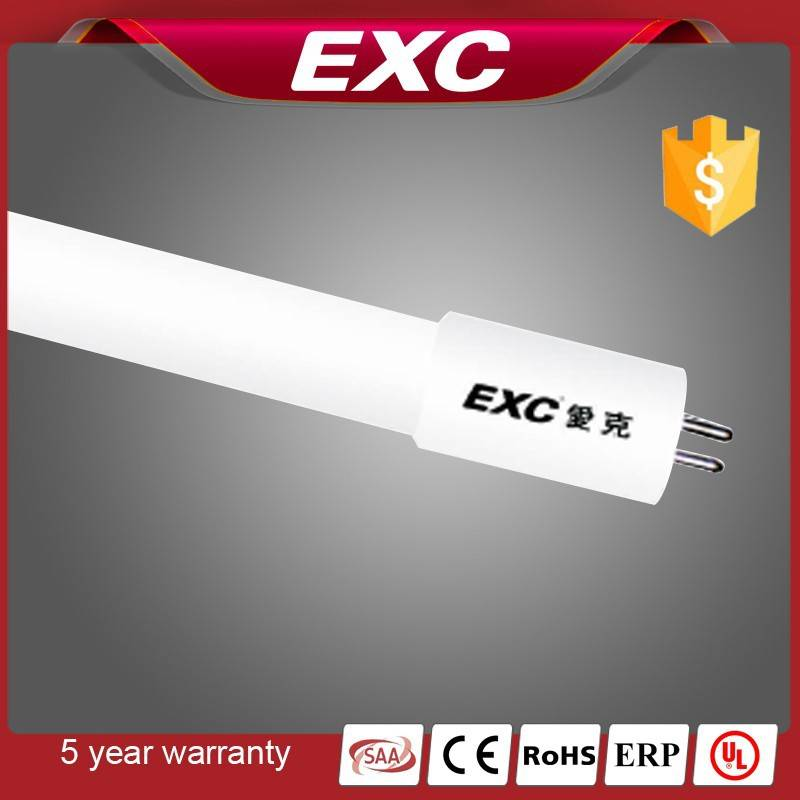 Green t5 led tube 120 degree with 5 years warranty energy-saving