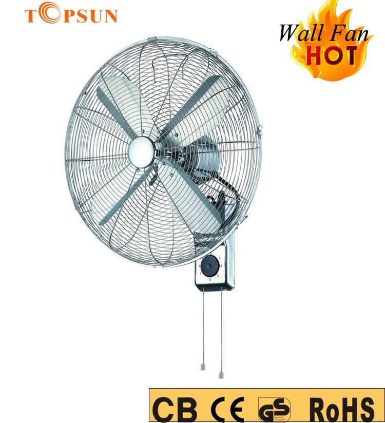 16 Inch 50W Metal Wall Fan Wall Mounted Fan