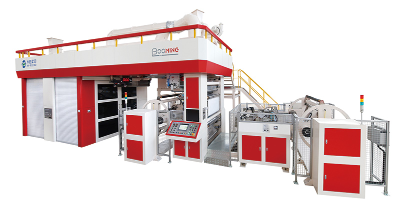 Booming Gearless CI Flexo Printing Machine