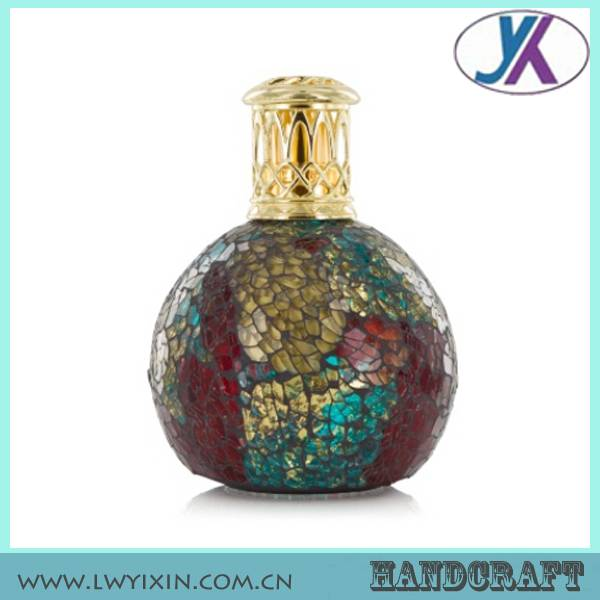 Design your own colored glass mosaic 50ml vintage perfume bottle