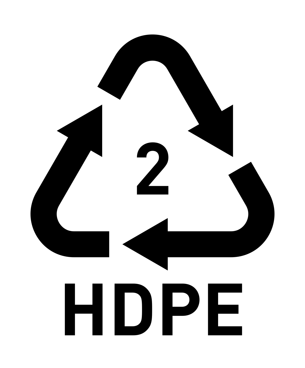 High-density polyethylene HDPE