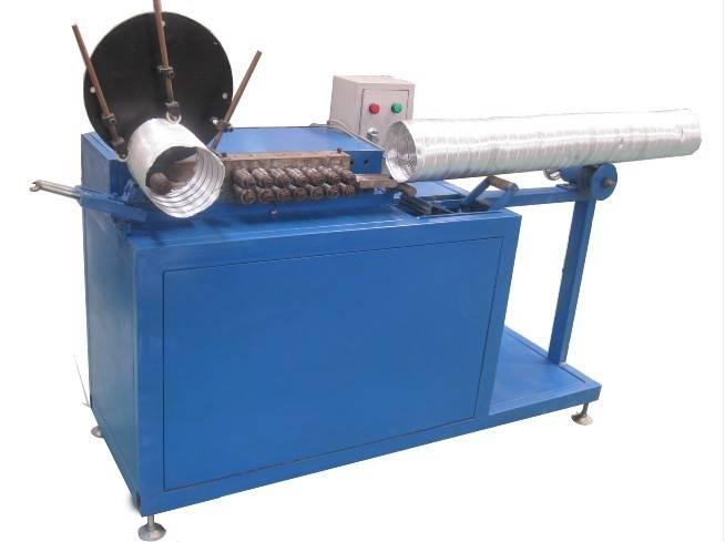 Aluminum Flexible Duct & Tube Machine