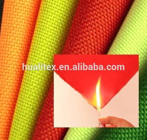 300D Flame Resistant PVC/PU Coating Fabric For Bag/Luggage/Tent