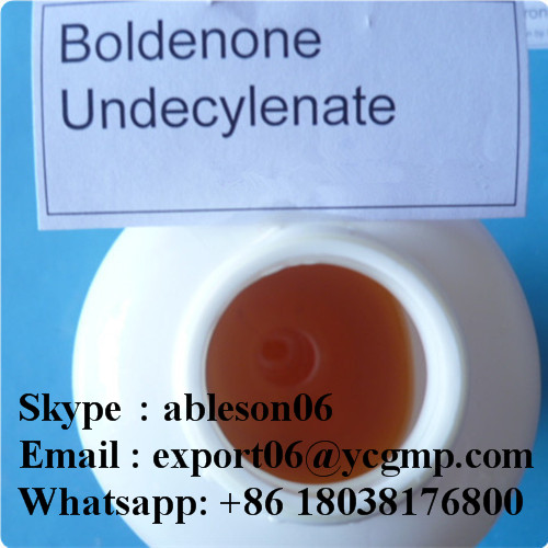 Slightly Yellow Liquid Equipoise Boldenone Undecylenate for Weight Lose