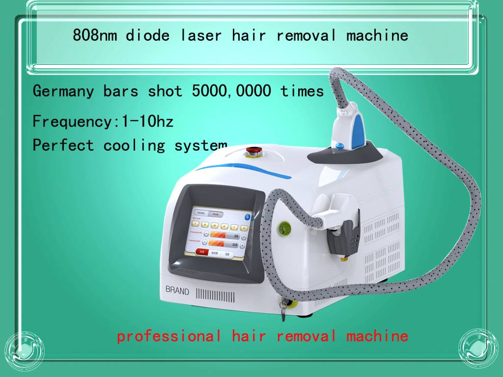 professional 808nm diode laser hair removal machine