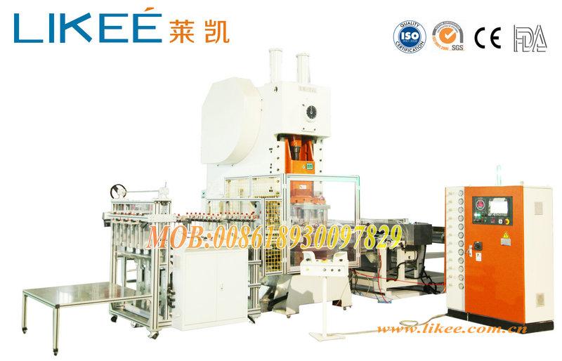 Aluminium foil food container machine manufacturer