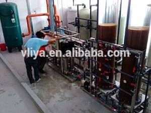 Vliya Mixed bed ion exchanger water treatment plant with ro system
