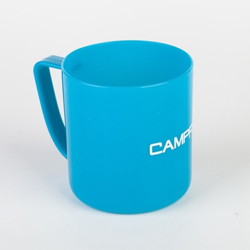 Hot sale 450ml food grade plastic mug