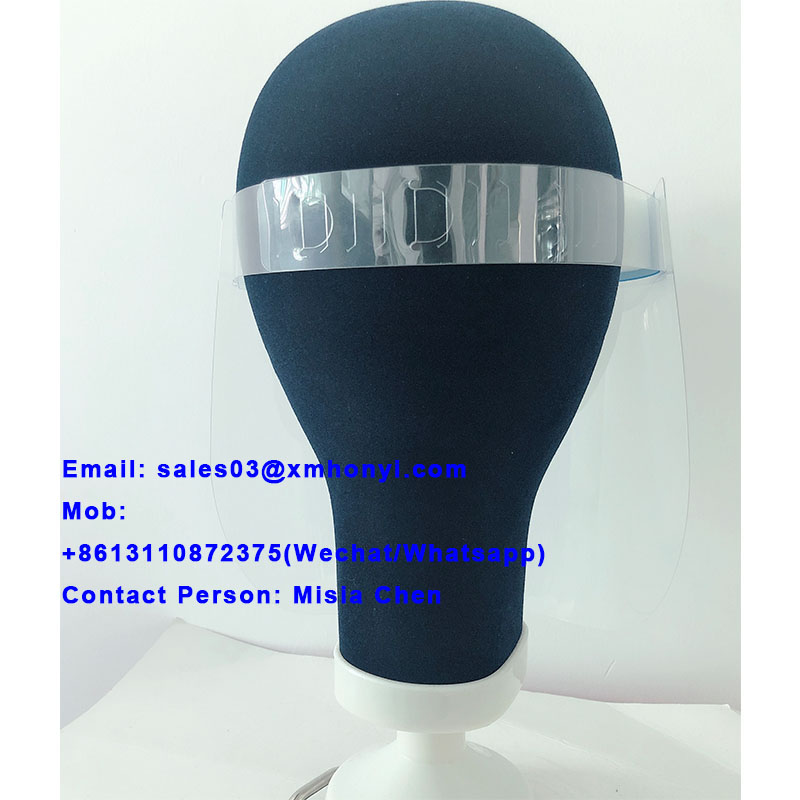 10pcs per bag disposable face shield in stock