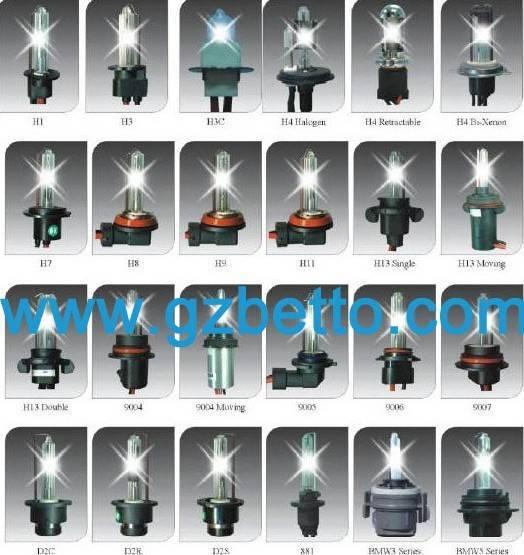 HID bulb, HID lamp(H1,H3,H4,H4H/L,H7,9004,9005,9006,9007,H11,D2R,D2C series)