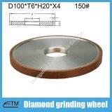 Flat shape resin bond diamond abrasive grinding wheel for tungsten carbide steel grinding and sharpe