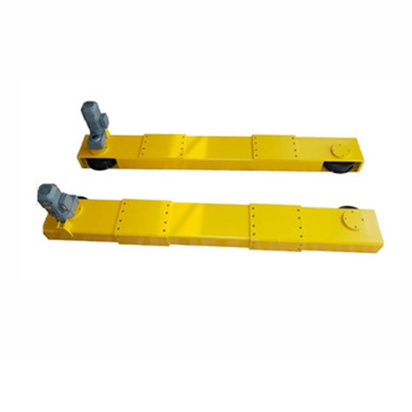 High quality 10 ton double girder bridge crane end carriages for sale