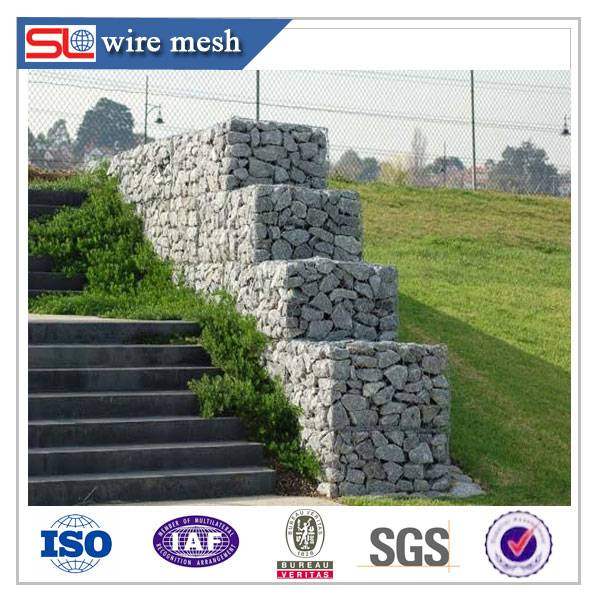 High quality gabion basket / gabion containment prices