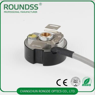 9mm taper hollow shaft rotary servo motor encoder 2500 ppr 6 poles