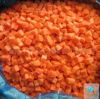 High Quality IQF carrot dices 10*10mm