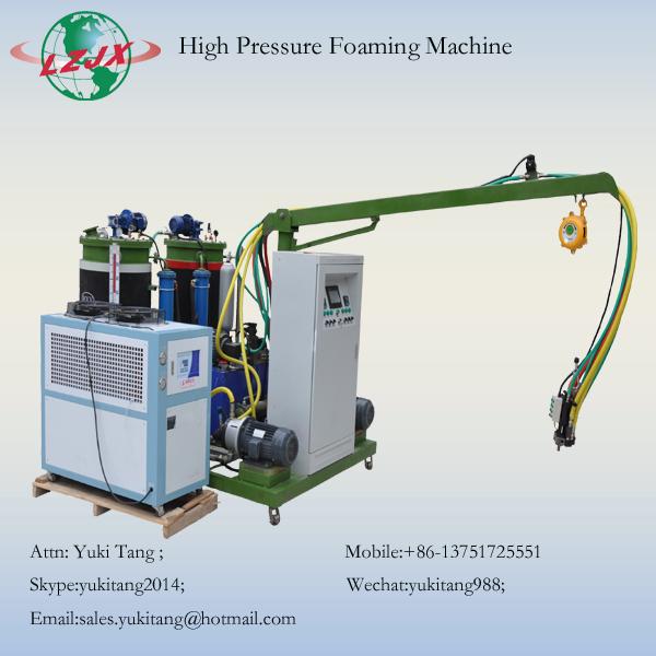 High pressure foaming machine for PU car seats
