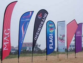 Promotional Gifts-Flag Advertising Flag Flying Banner Beach flag Banner imprinted banner