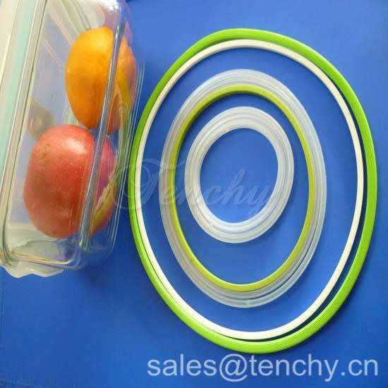 Silicone Sealing Rings for Plastic Box, Food Container