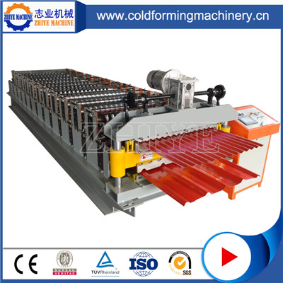 PLC Controlled Double Layer Wall Panel Making Machine