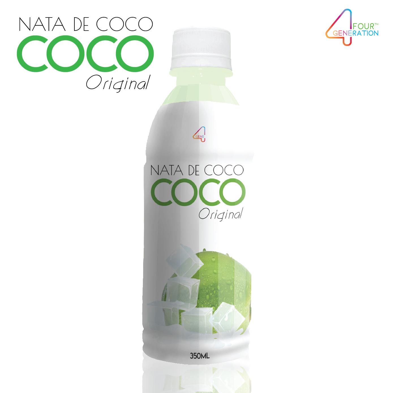 gasaco brand nata de coco with original flavor