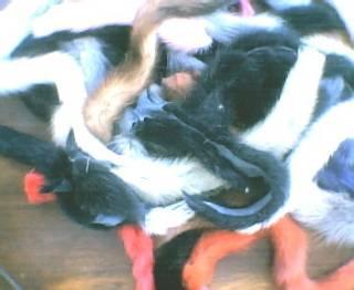 Mink Fur Tails