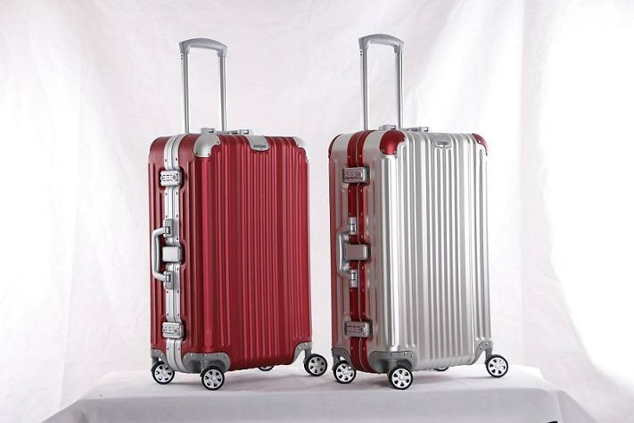 Newest Fashionable High Quality Colorful Aluminum Luggage Cases