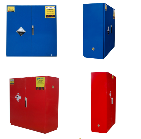 Four colors Acid Corrosive Liquid Chemicals Storage safety/anti corrosive safety Cabinet