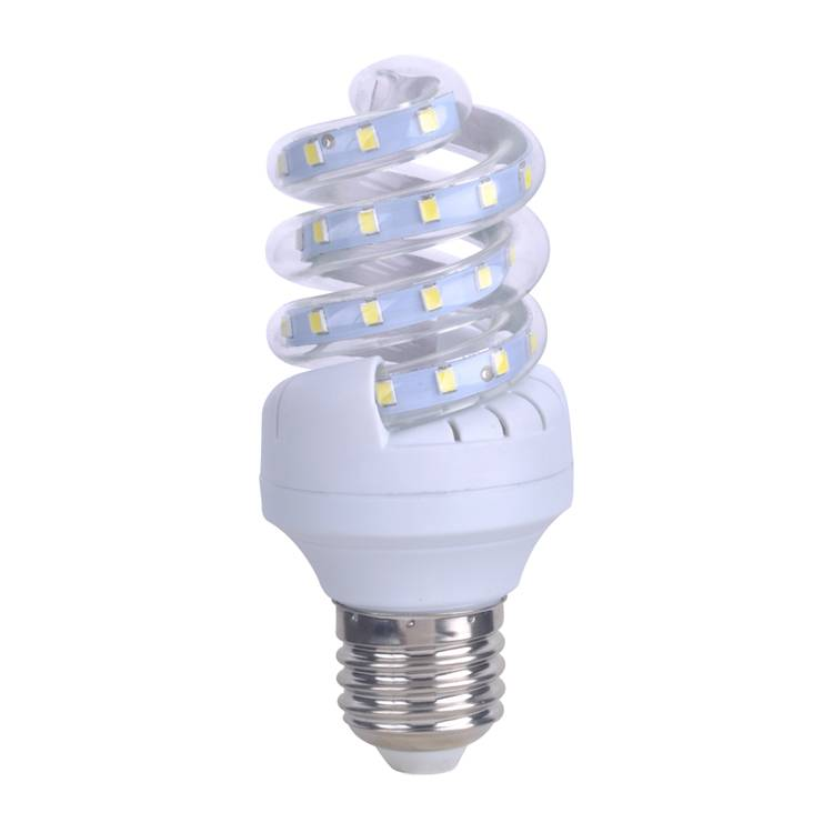 LED bulb Spiral shape , 9w