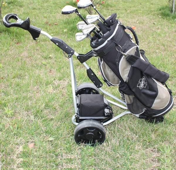 Marshell brand wholesale electric golf caddy with 3 wheel