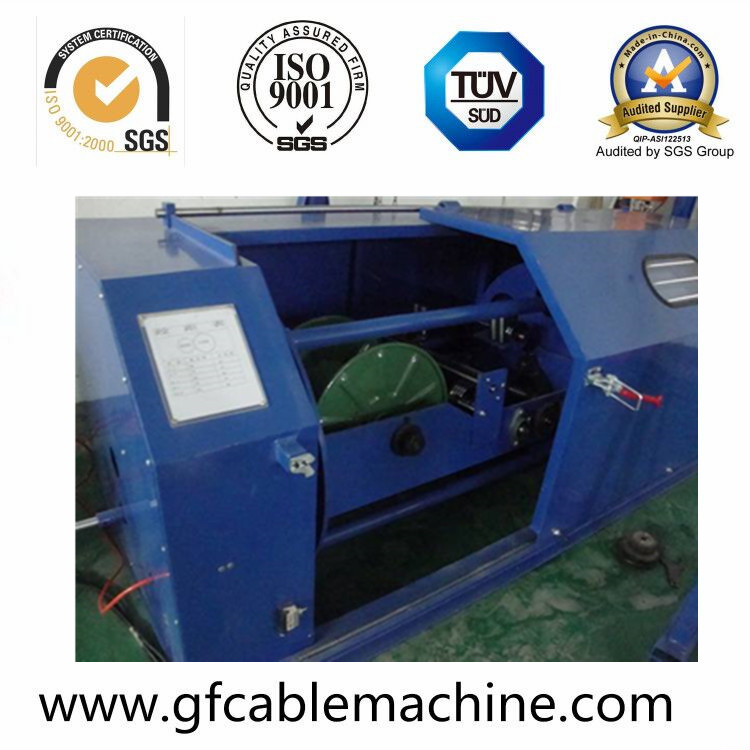 High Speed Core Wire Double Twisting Equipment