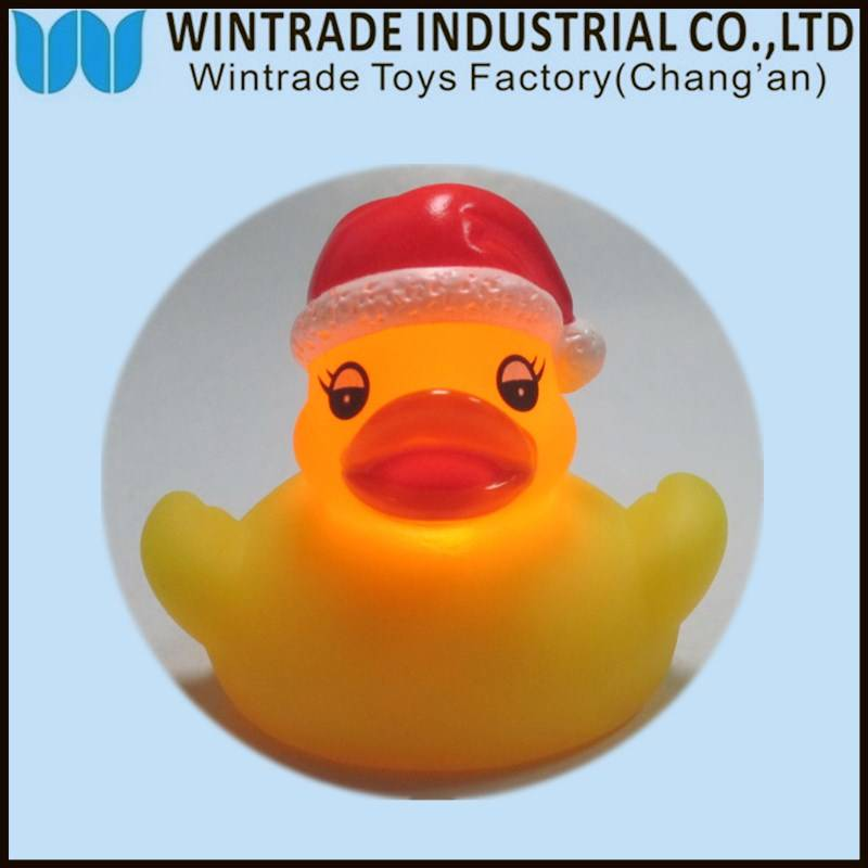 OEM rubber bath duck baby toy