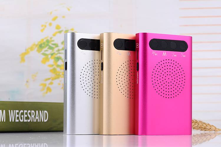 Smart Portable Power Bank Bluetooth Speaker 5200mAh